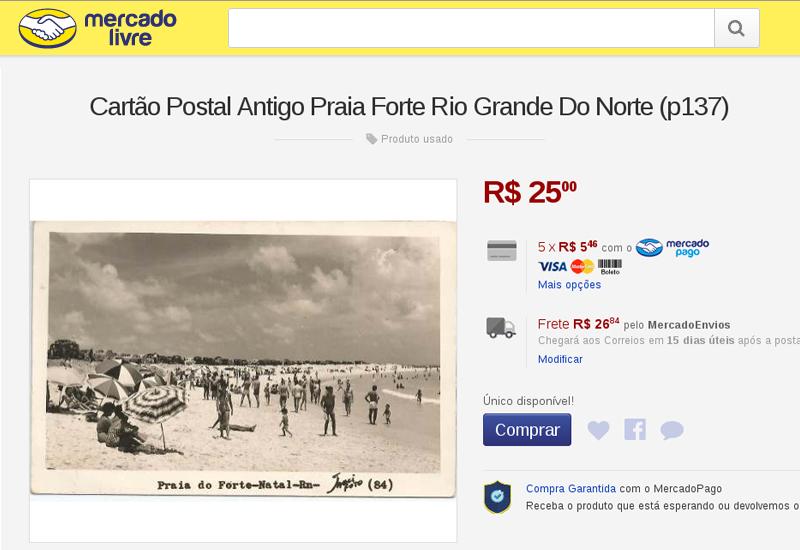 post-coisas-curiosas-classificados-mercado-livre-cartao-postal-praia-do-forte-antiga
