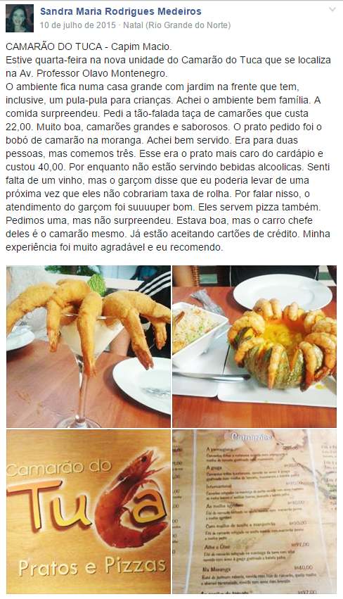 post-opiniao-facebook-restaurante-camarao