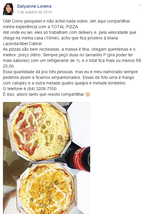 post-opiniao-facebook-restaurante-pizza