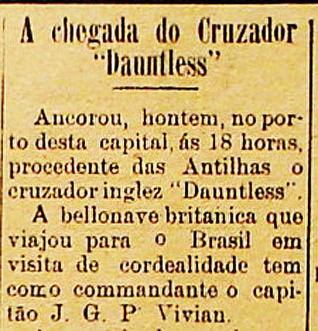post-1a-partida-futebol-rn-o-navio-militar-ingles-Dauntless-1930-jornal-noticia-Tok