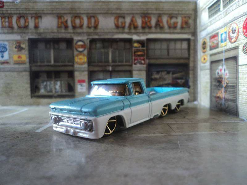 post-natalense-miniatura-carrinhos-caminhonete-chevy-streetched