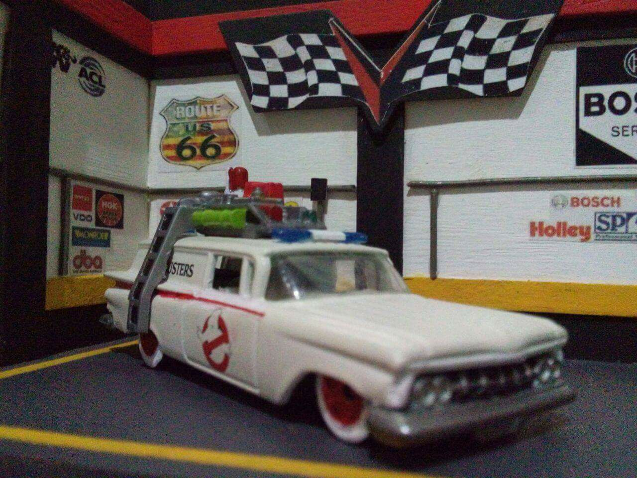 post-natalense-miniatura-carrinhos-chevy-ector-ghostbuster