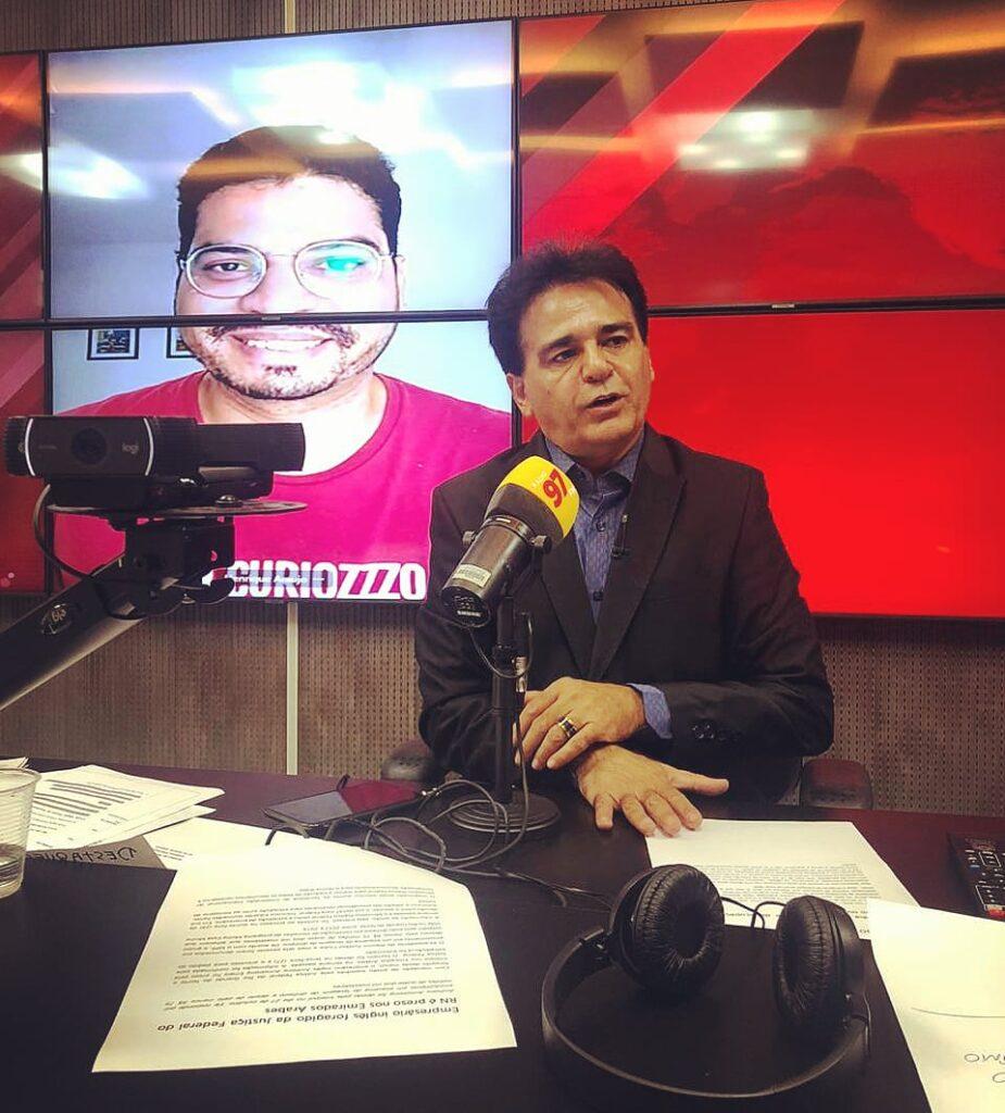 Curiozzzo no rádio, Henrique Araujo do rádio, 97FM Natal